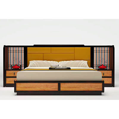 New Chinese style bed