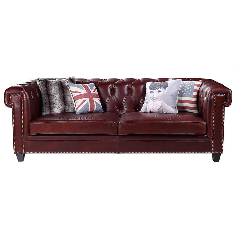 cusotm leather sofa for living room