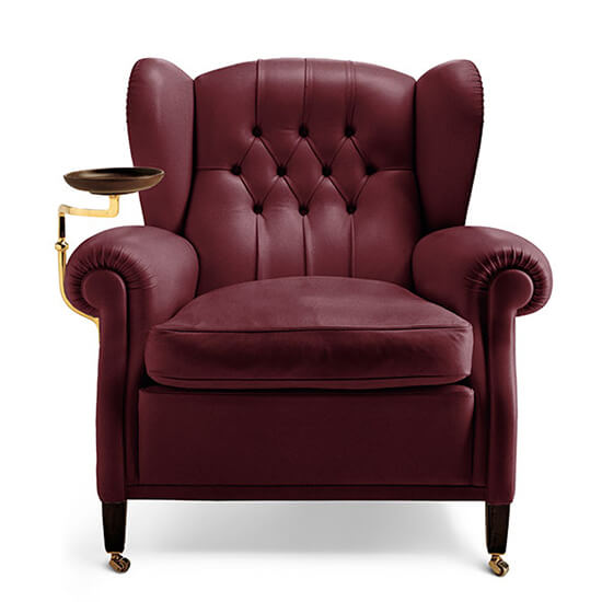 China Poltrona Frau 1919 leather armchair